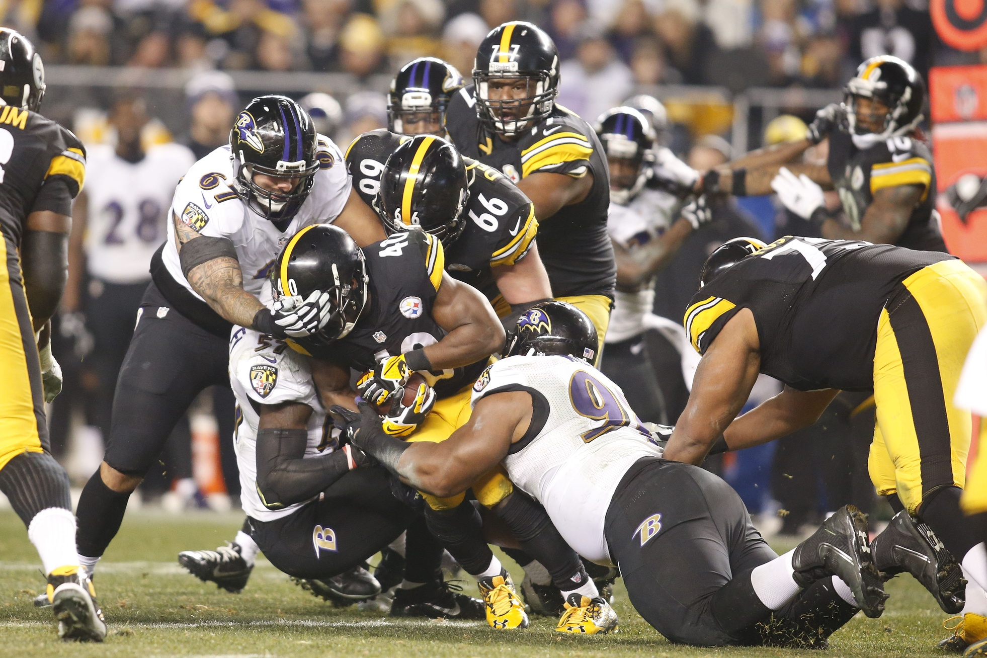 Ravens at Steelers