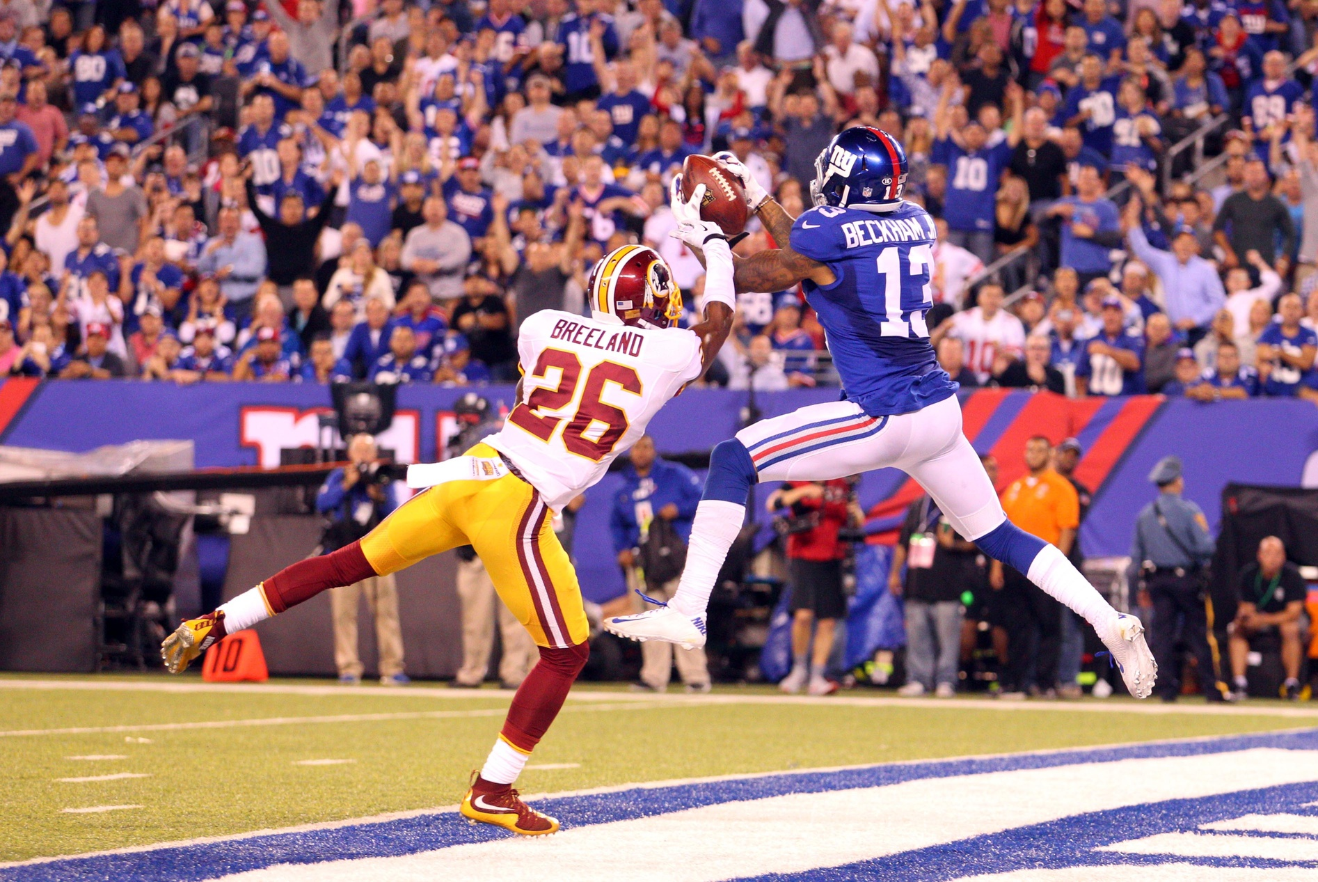 Odell Beckham Jr | Bashaud Breeland